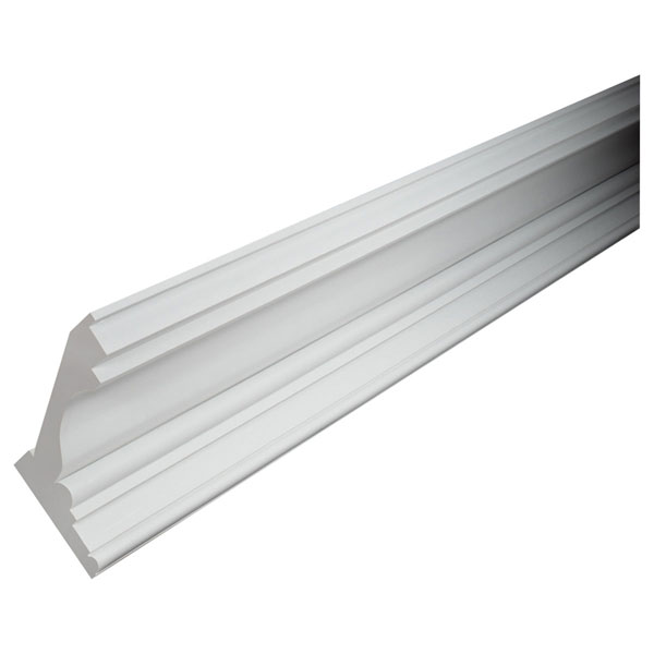 "9 1/8""H x 7 5/8""P, 12' Length, Massive Crown Moulding"