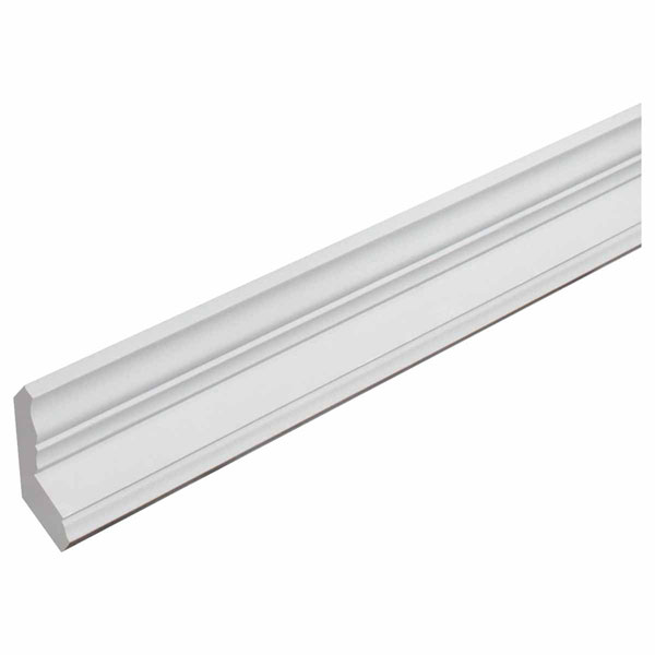"3 7/16""H x 2 1/8""P, 12' Length, Classic Crown Fascia Moulding"