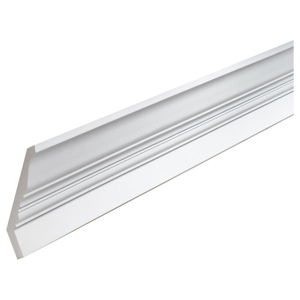 "6 7/8""H x 5 1/2""P, 12' Length, Crown Fascia Moulding"