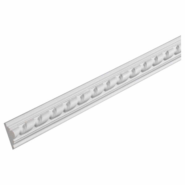 "2 1/16""H x 1 5/16""P, 12' Length, Chair Rail Moulding"