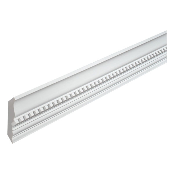 "4 7/16""H x 3 15/16""P Crown Dentil, 12' Length"