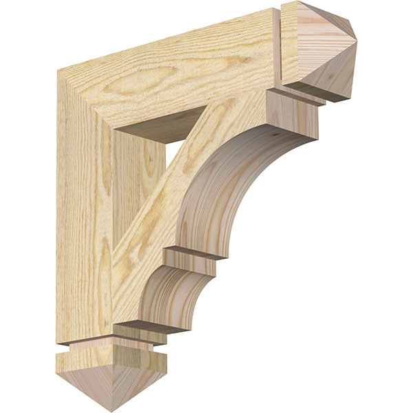 Balboa Arts & Crafts Rough Sawn Bracket