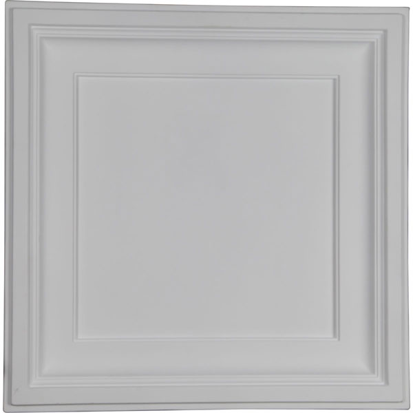 "23 7/8""W x 23 7/8""H x 2 1/2""P Traditional Ceiling Tile"