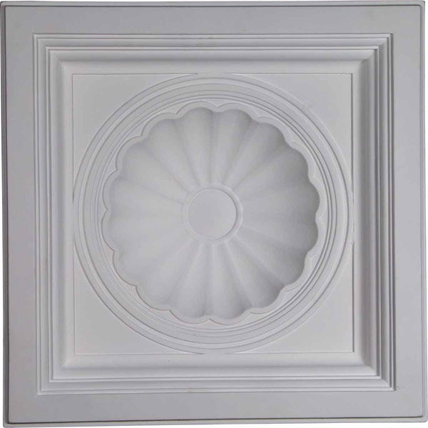 "23 7/8""W x 23 7/8""H x 5 1/2""P Shell Ceiling Tile"