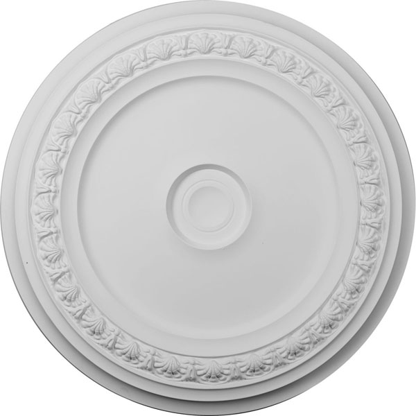 "31 1/8""OD x 1 1/2""P Carlsbad Ceiling Medallion (Fits Canopies up to 5 1/2"")"