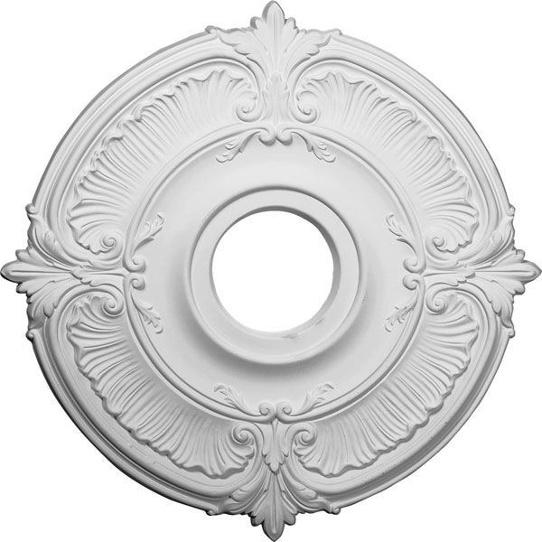 "18""OD x 4""ID x 5/8""P Attica Ceiling Medallion (Fits Canopies up to 5"")"