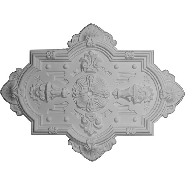 "29 1/8""H x 38 1/8""W x 1 3/4""P Cathedral Ceiling Medallion"
