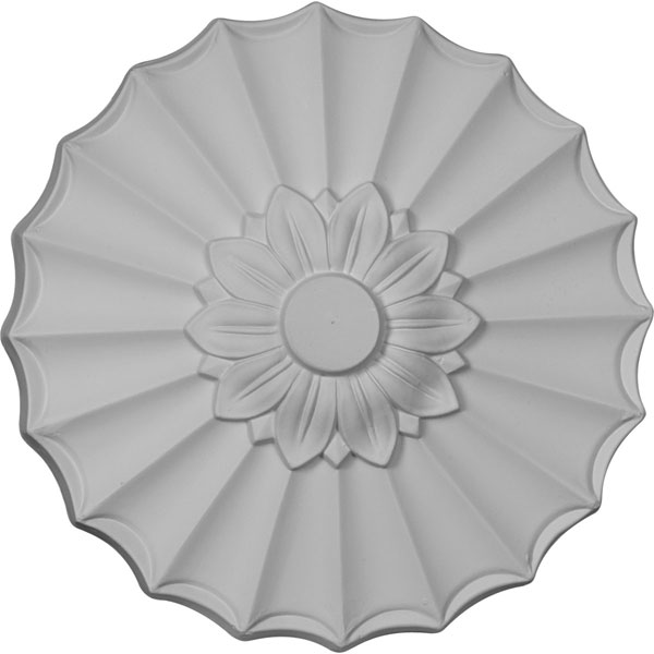 "9""OD x 1 3/8""P Shakuras Ceiling Medallion (Fits Canopies up to 1 3/8"")"