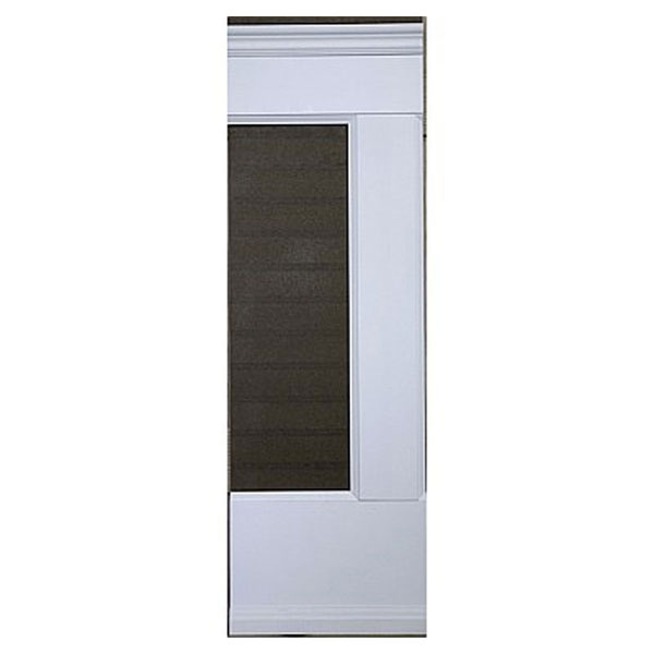 Wall Paneled Wainscoting Sample with W-Rails