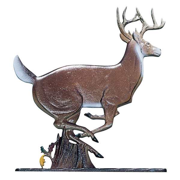 "10 3/4""W x 9 1/2""H Buck Mailbox Ornament, Color"