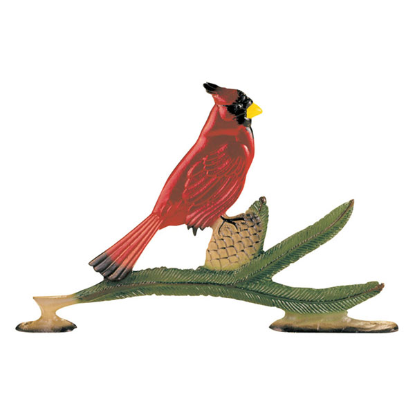"7 1/2""W x 11 1/2""H Cardinal Mailbox Ornament, Color"