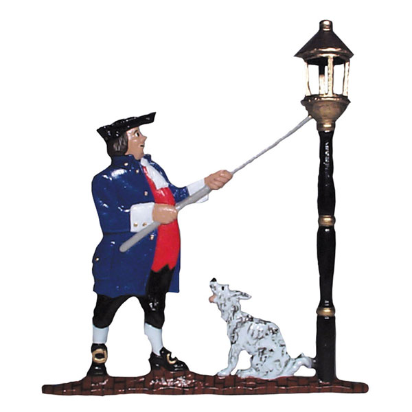 "9""W x 11""H Lamplighter Mailbox Ornament, Color"