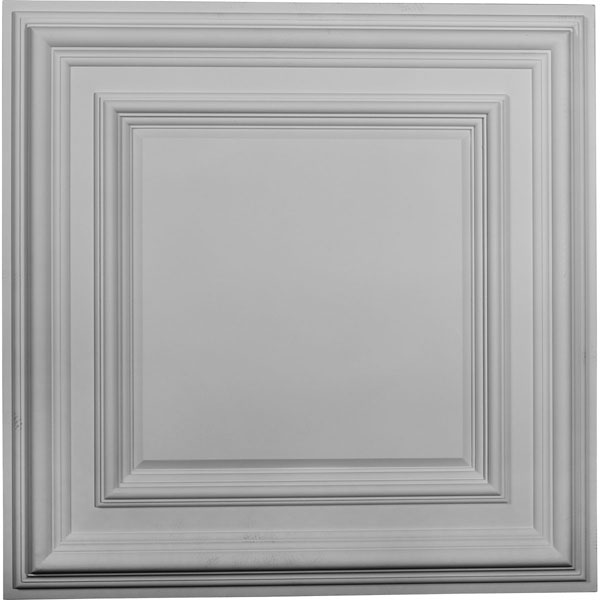 "23 3/4""W x 23 3/4""H x 1 5/8""P Classic Square Ceiling Tile"
