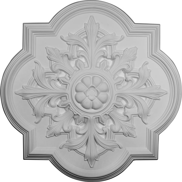 "31 1/4""OD x 2""P Bonetti Ceiling Medallion (Fits Canopies up to 7 3/8"")"