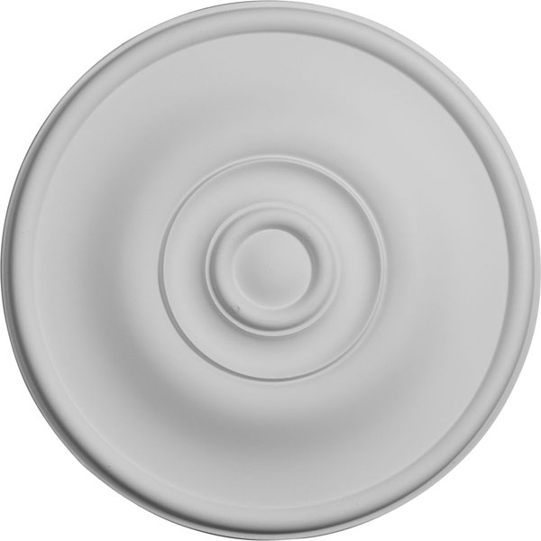 "11 3/4""OD x 3/8""P Jefferson Ceiling Medallion (Fits Canopies up to 2 7/8"")"
