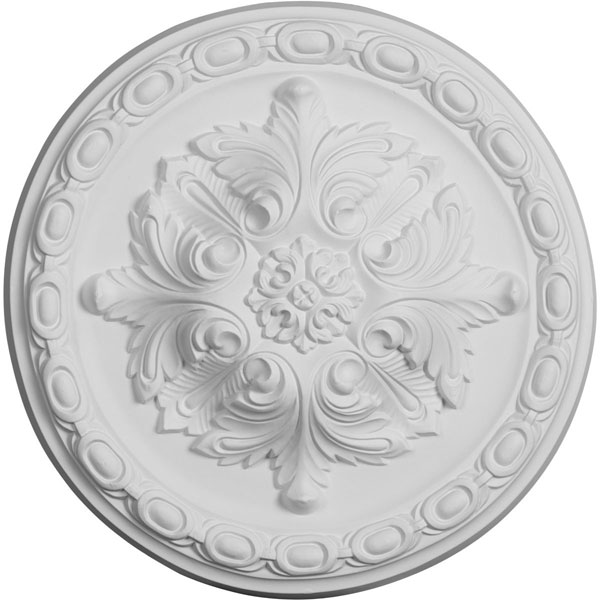 "11 3/4""OD x 3/8""P Stockport Ceiling Medallion"
