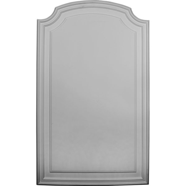 "21 5/8""W x 35 5/8""H x 5/8""P Legacy Arch Top Wall/Door Panel"
