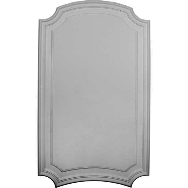"21 5/8""W x 36 3/8""H x 5/8""P Legacy Deluxe Arch Wall/Door Panel"