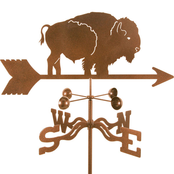 "21""L x 7 3/4""H Vintage Series Bison Weathervane"