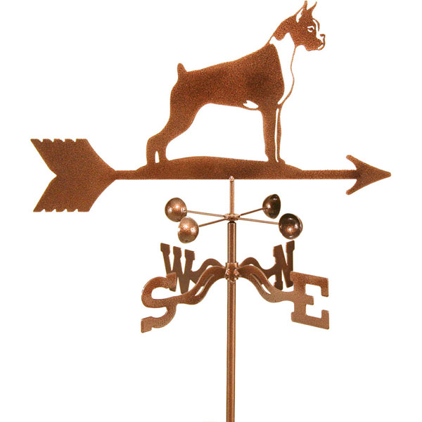"21""L x 9 3/4""H Vintage Series Boxer Dog Weathervane"