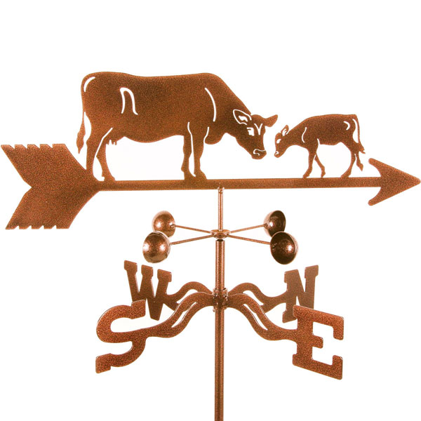 "21""L x 6""H Vintage Series Cow & Calf Weathervane"