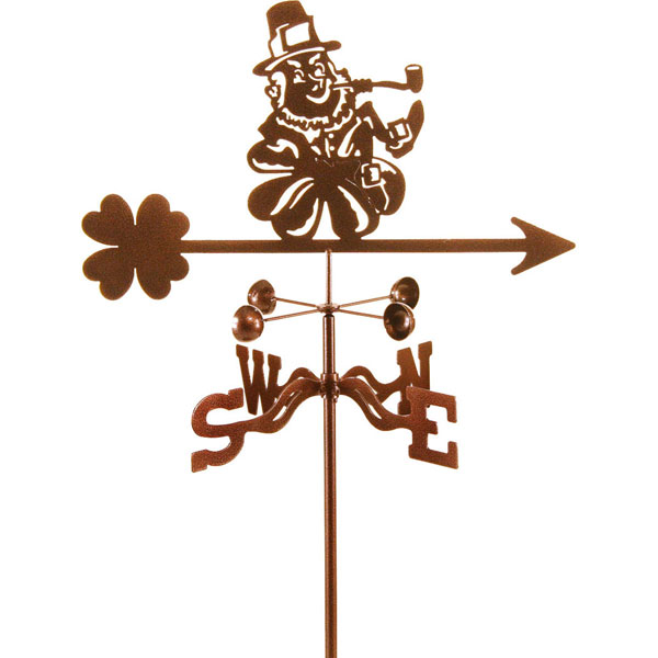 "21""L x 10""H Vintage Series Leprechaun Weathervane"