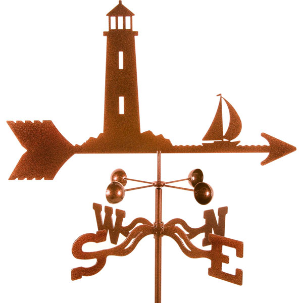 "21""L x 10 1/2""H Vintage Series Lighthouse Weathervane"
