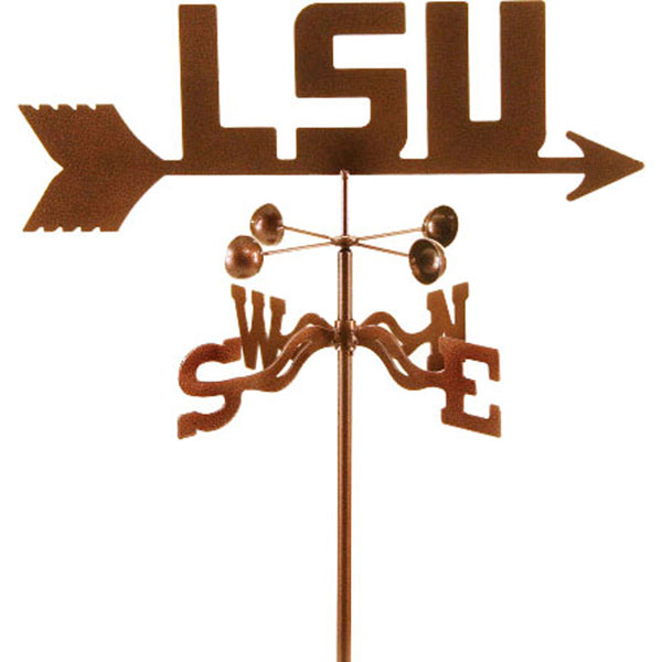 "21""L x 5 1/2""H Vintage Series Louisiana State Tigers Logo Weathervane"