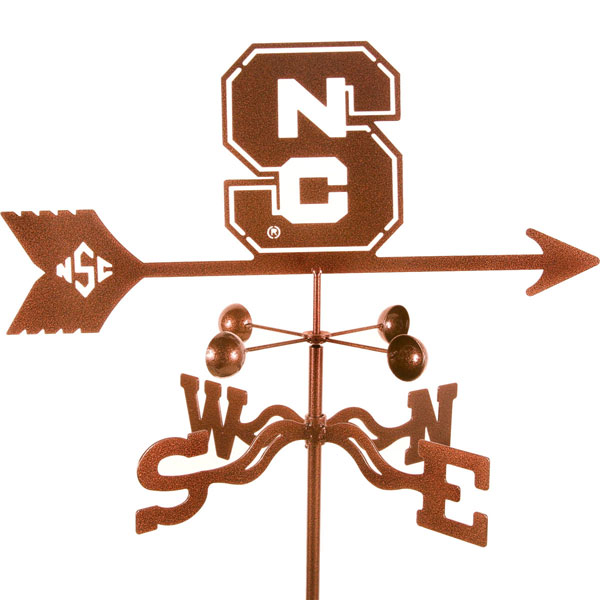 "21""L x 8""H Vintage Series North Carolina State Wolfpack Logo Weathervane"