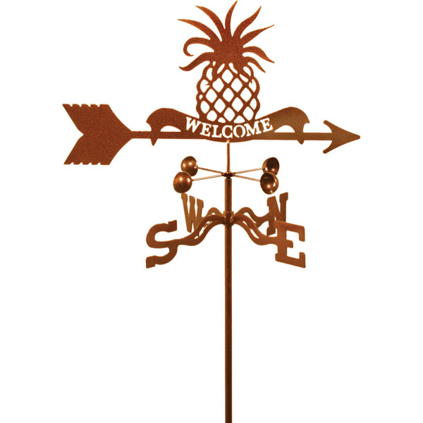 "21""L x 10""H Vintage Series Pineapple Welcome Weathervane"