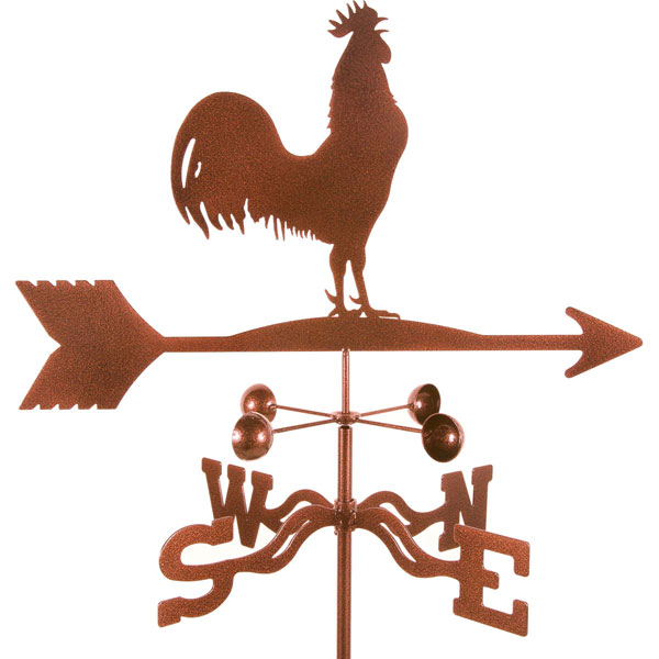"21""L x 11 1/4""H Vintage Series Rooster Bird Weathervane"
