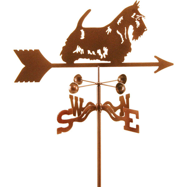 "21""L x 8 1/2""H Vintage Series Scottie Dog Weathervane"