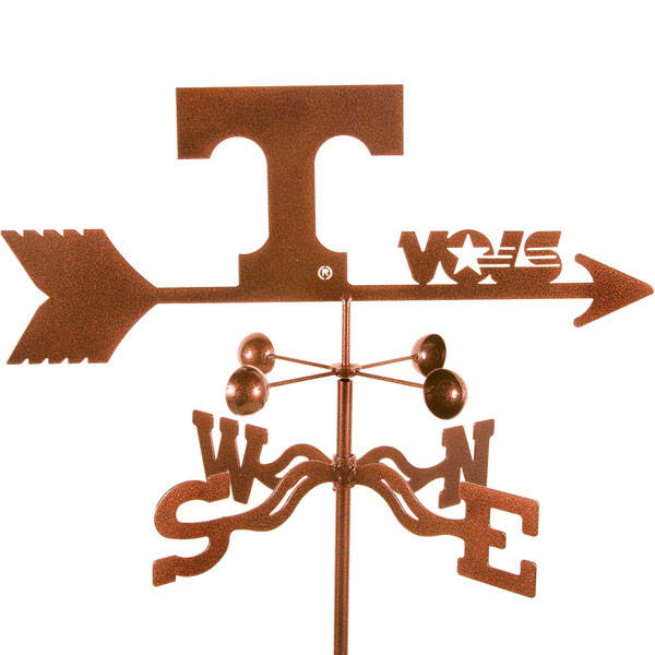 "21""L x 6 3/4""H Vintage Series Tennessee Volunteers Logo Weathervane"