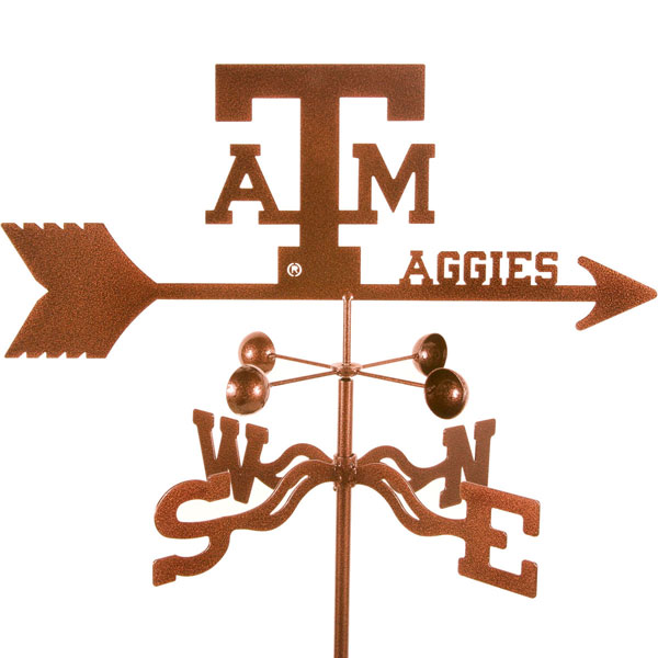"21""L x 7 1/4""H Vintage Series Texas A&M Aggies Logo Weathervane"