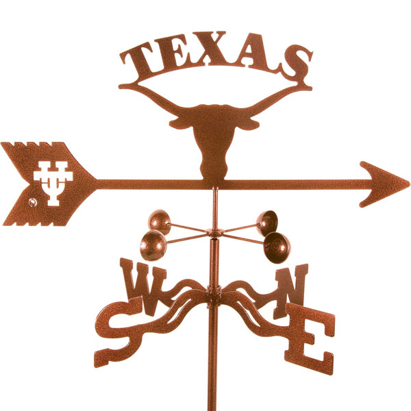 "21""L x 7 3/4""H Vintage Series Texas Longhorns Logo Weathervane"