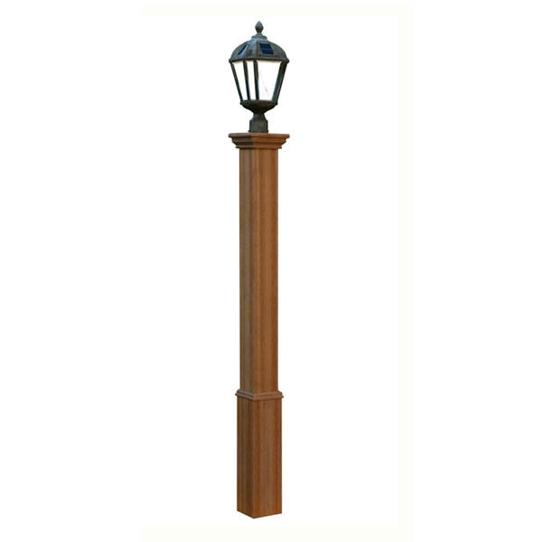 "6""W x 6""D x 72""H Trinity Composite Lamp Post (Lamp not included)"