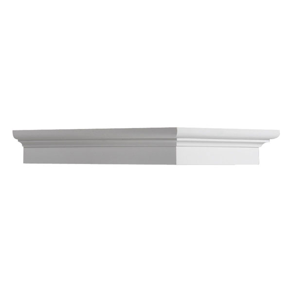 "7 1/2""W x 1 3/4""H x 12""P Decorative Dentil Block"