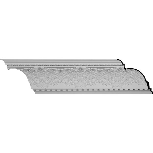 "SAMPLE - 17 3/4""H x 16 1/8""P x 23 7/8""F x 12""L, (16 3/8"" Repeat), Norwich Crown Moulding"