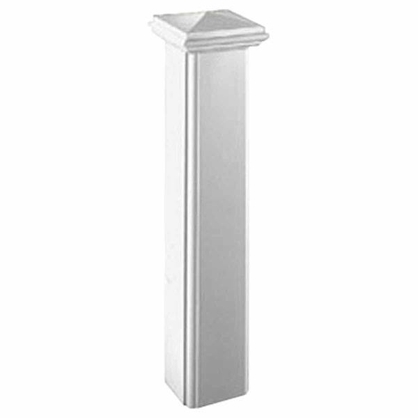 "10""W x 48""H Decorative Newel Post"