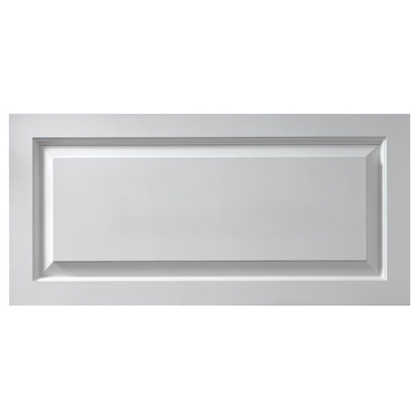 "36""W x 18""H x 1 1/8""P Raised Window Panel, Urethane"
