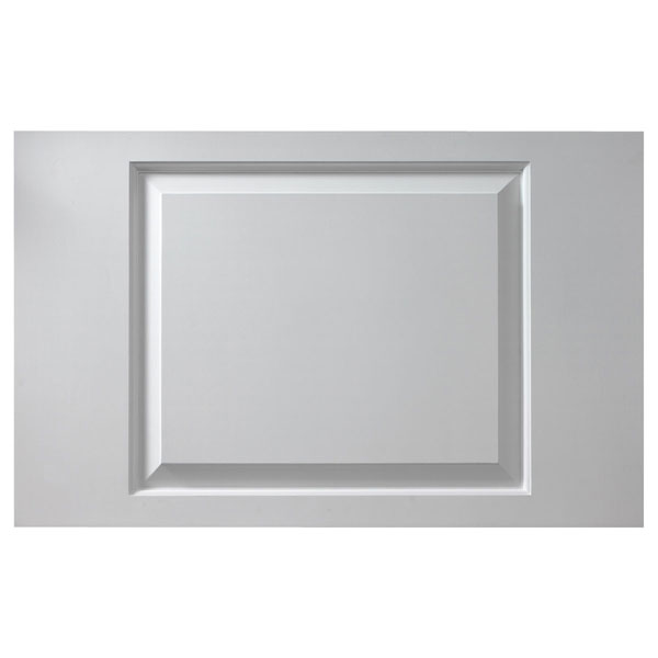 "38""W x 18""H x 1 1/8""P Raised Window Panel - Adjustable, Urethane"