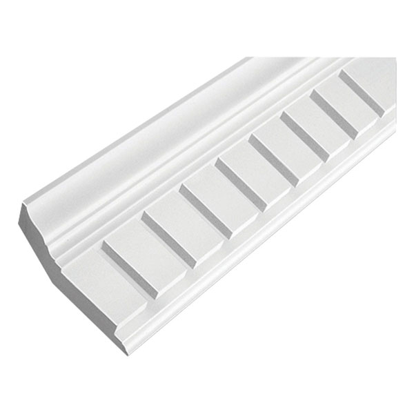 "10 21/32""H x 5 3/8""P, 3""Tooth/ 1""Space, 16' Length, Door/Window Moulding"