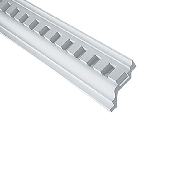 "11 1/8""H x 8 1/2""P, 3""Tooth/ 2 7/8""Space, 12' Length, Door/Window Moulding"