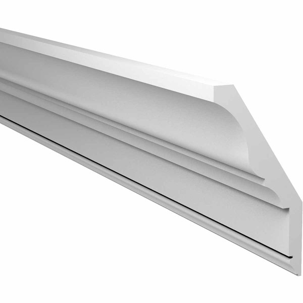 "8 1/8""H x 4 3/32""P x 144""L Crown Moulding, Smooth"