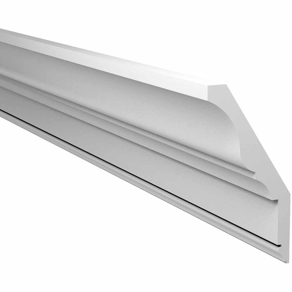 "10 5/32""H x 5 3/32""P x 144""L Crown Moulding, Smooth"