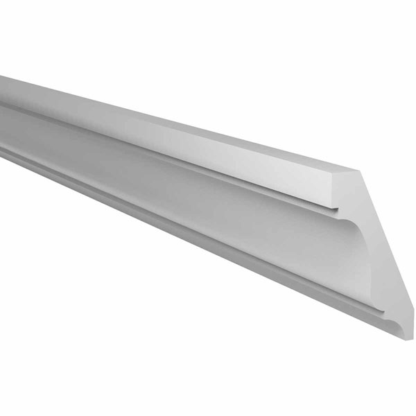 "5 5/8""H x 3 1/8""P x 144""L Crown Moulding, Smooth"
