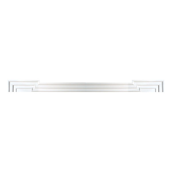 "132""W x 5 1/2""H x 7""OH x 1 3/4""P Door/Window Head Crossette Trim"