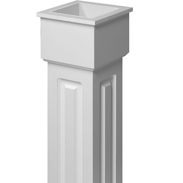 fypon ltd cwktnr raised panel non tapered fypon column wra