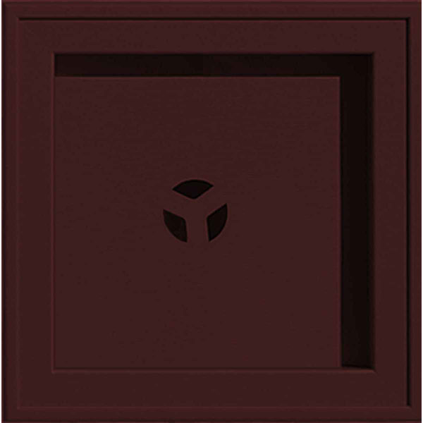 "7 13/16""W x 7 13/16""H Recessed Square MountMaster Mounting Block"