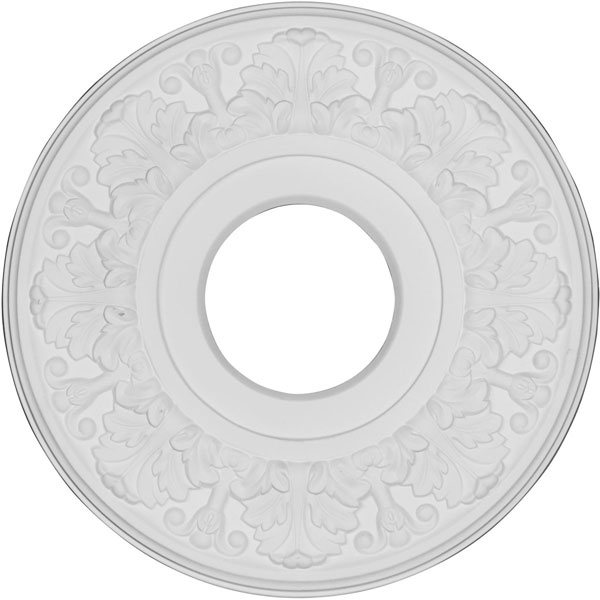 "11 1/2"" OD x 3 1/2""ID x 1""P Apollo Ceiling Medallion"